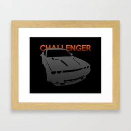 Dodge Challenger Framed Art Print