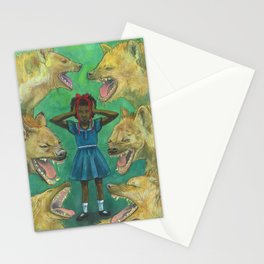 """""""Little Girls Cannot Fly"""" they said Stationery Cards"""