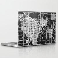 las vegas Laptop & iPad Skins featuring Vintage Las Vegas by Upperleft Studios