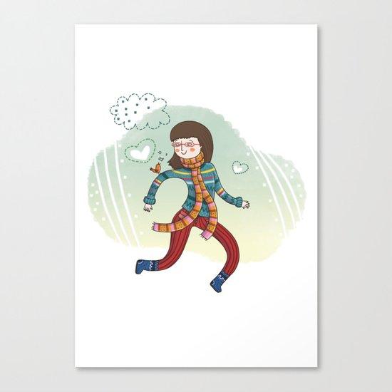 MY LITTLE FRIEND Canvas Print
