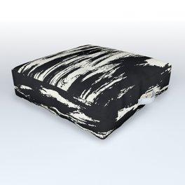 Brush Stripe 2 Outdoor Floor Cushion