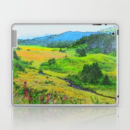 Alaska's Kenai Peninsula - Watercolor Laptop & iPad Skin