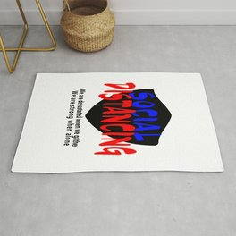 Social Distancing For All Rug