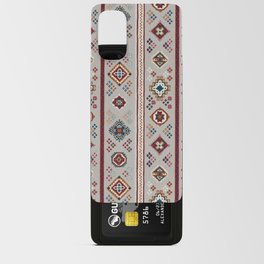 Caucasian Rugs(Stripe) - White Android Card Case
