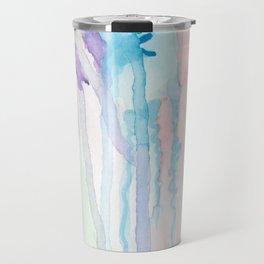 Watercolor Jellies Travel Mug