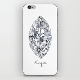 Marquise iPhone Skin