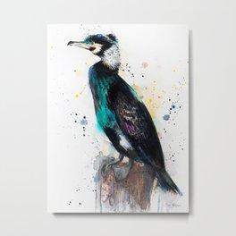 Cormorant Metal Print