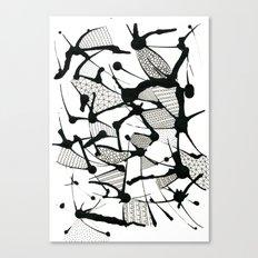 Ink Doodles Canvas Print