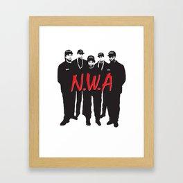 NWA Framed Art Print