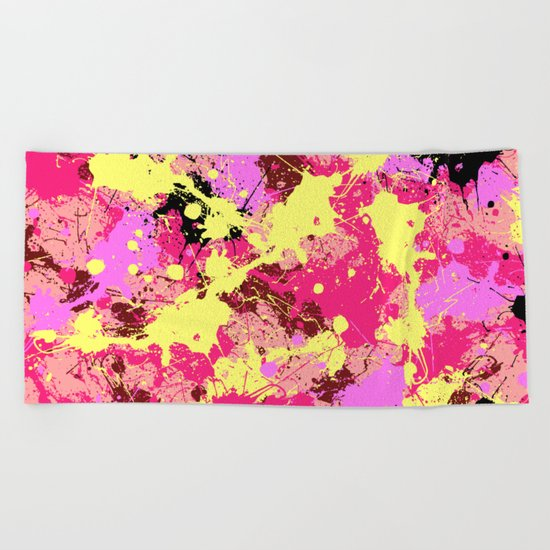 Abstract 21 Beach Towel