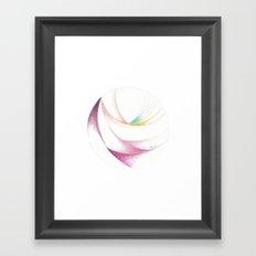 7 Colours Framed Art Print