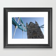 Tower Bridge, London (2012) Framed Art Print