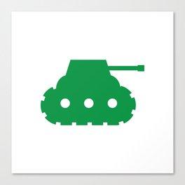 Mini-Tank Canvas Print