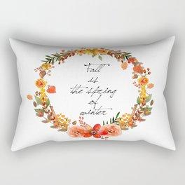 Flower fall Rectangular Pillow