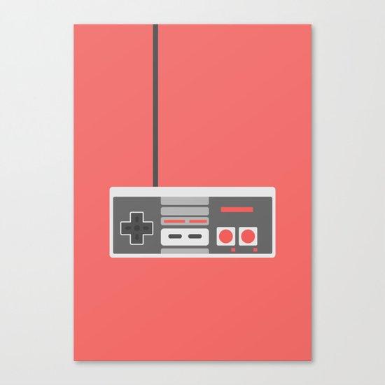 #48 NES Controller Canvas Print