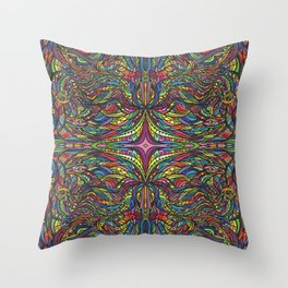 Stained Glas Throw Pillow