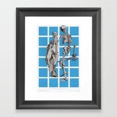 Laugh At Death Framed Art Print