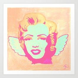 Little Marilyn Monroe Art Print