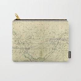 A Celestial Planisphere or Map of The Heavens Carry-All Pouch