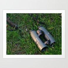 Swarovski Binoculars Art Print