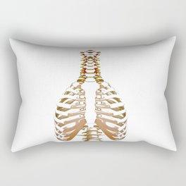 Rib Cage (Color) Rectangular Pillow