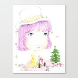 Goldy Canvas Print