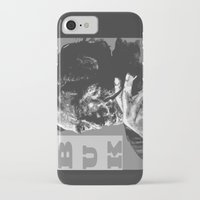 popart iPhone & iPod Cases featuring Charles Bukowski -Popart - bw by ARTito
