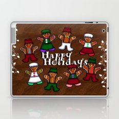 Holiday Gingerbread Friends Laptop & iPad Skin