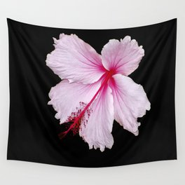 Pink Hibiscus  Wall Tapestry