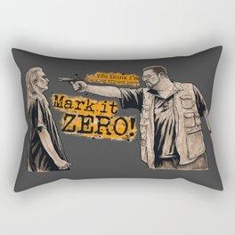 Mark it zero! The Big Lebowski Rectangular Pillow