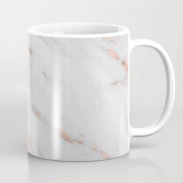 Lenola - minimalist rose gold gleam marble Coffee Mug