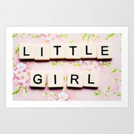Pink for Girls Art Print