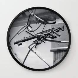 Tiny Toy Guns Wall Clock
