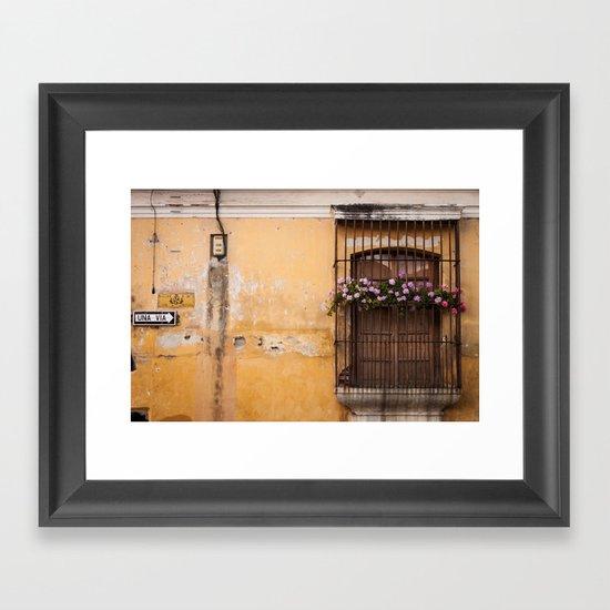 Amarillo Framed Art Print