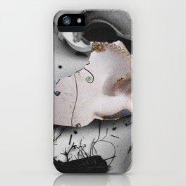 Broken Mask iPhone Case