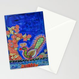 The One Under The Blue Shade Stationery Cards