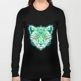 Emerald Leopard  Long Sleeve T-shirt