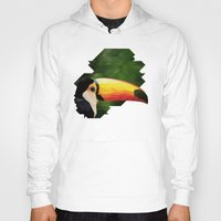 toucan Hoodies featuring toucan by gazonula
