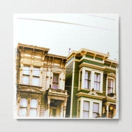 san fran housing Metal Print