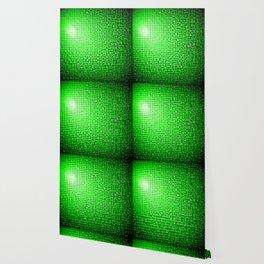 Green Pixels Wallpaper