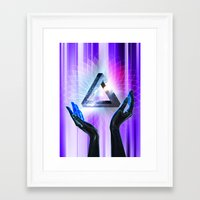 vector Framed Art Prints featuring vector by raj verma