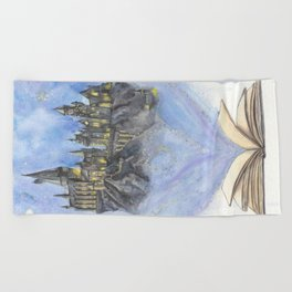 Until the Very End Beach Towel