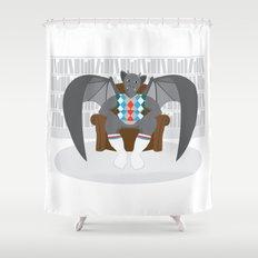 Gargyle Shower Curtain