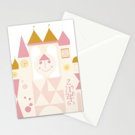 Happy Castle Rose Gold Stationery Cards