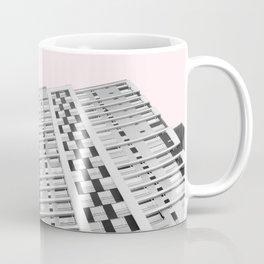 Blush Sky Building Coffee Mug