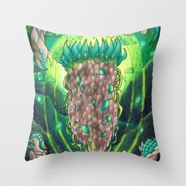Vortex Pillar- Terraria Throw Pillow