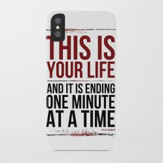 Fight Club - This is Your Life... Slim Case iPhone X