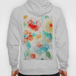 Abstract Flowers 02 Hoody