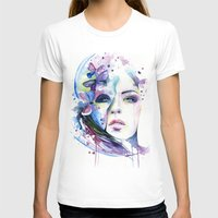 lunar T-shirts featuring lunar mistery by Cora-Tiana