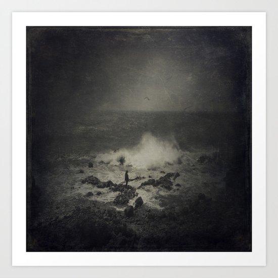 turmoil of the soul Art Print